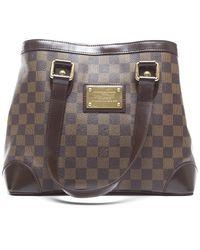 Louis Vuitton Damier Ebene Hampstead Pm Bag - Lyst