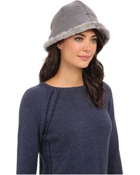 Ugg Lorien Cloche with Shearling Trim 14 - Lyst
