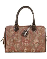 Etro Arnica Bauletto Pelle Stampa Paisley Borchie - Lyst