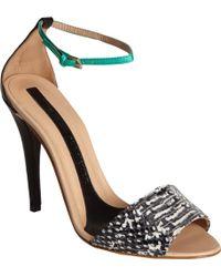 Narciso Rodriguez - Stiletto Ankle Strap Sandal - Lyst