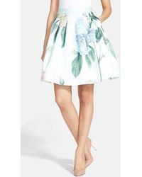 Ted Baker Women'S 'Rose Maari' A-Line Skirt - Lyst
