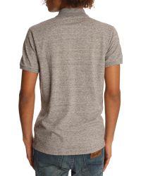 Diesel Alfred Grey Polo Shirt - Lyst