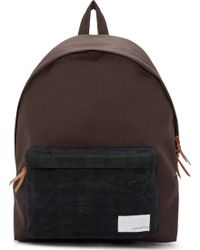 Nanamica Brown Day Backpack - Lyst