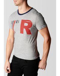 True Religion Tr56 Ringer Pocket Mens Tee - Lyst