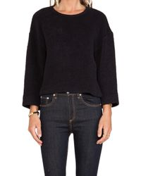 La't By L'agence Long Sleeve Pull Over - Lyst