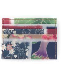 Luisa Cevese Riedizioni - Japanese Print Cardholder - Lyst