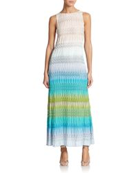 Missoni Striped Knit Tank Dress - Lyst