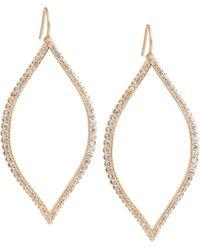 Jamie Wolf - Marquise Leaf Diamond Drop Earrings - Lyst