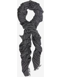 Rag & Bone Linton Striped Scarf - Lyst