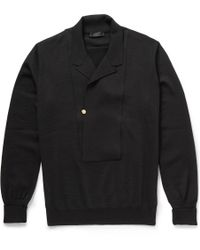 Alexander McQueen Lightweight Wool Cardigan - Lyst