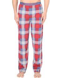 Emporio Armani Check Cotton Pyjama Trousers - Lyst