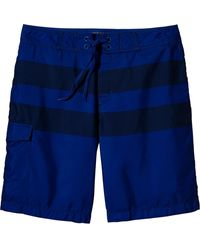 Old Navy Rugbystripe Board Shorts - Lyst