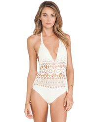 Lisa Maree A Round Trip One Piece - Lyst
