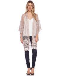 Anna Sui Crochet Lace Kimono - Lyst