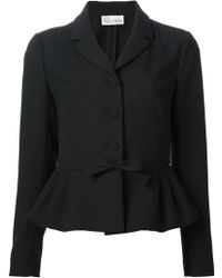 RED Valentino Bow Detail Jacket - Lyst