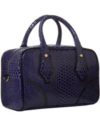 Vivienne Westwood Frilly Snake Small Satchel - Lyst