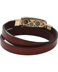 Pamela Huizenga | Double Wrap Saturn Chalcedony Bracelet | Lyst