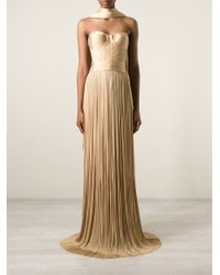 Maria Lucia Hohan Strapless Evening Gown - Lyst