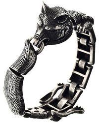 Ametallo - Volpe Stainless Steel Bracelet - Lyst