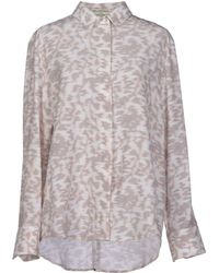 Balenciaga Gray Shirt - Lyst