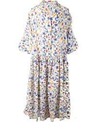 Angel Chen - Oversized Printed Shirt Dress - Lyst