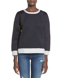 Lucca Couture - Crewneck Sweatshirt - Lyst