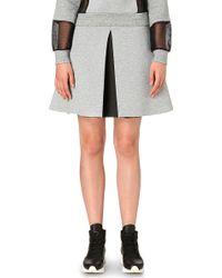 5cm - A-line Neoprene Skirt - Lyst