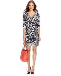 Diane von Furstenberg Tallulah Two Silk Jersey Wrap Dress - Lyst
