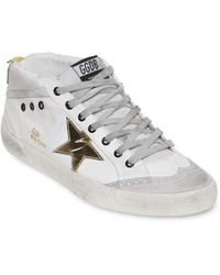 Golden Goose Deluxe Brand Star Cotton Canvas Sneakers - Lyst