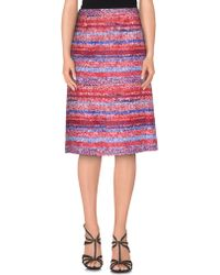 Tory Burch | Knee Length Skirt | Lyst