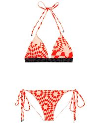 Preen Haven Triangle Bikini - Lyst