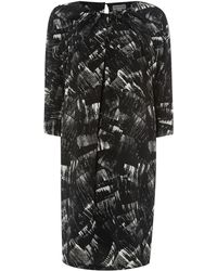 Mary Portas - Printed Tuck Front Dress - Lyst