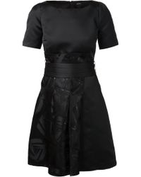 Jil Sander Navy 'Abito' Dress - Lyst