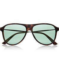 Gucci Aviator Optyl Sunglasses - Lyst