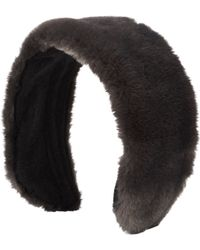 Jennifer Ouellette - Faux Fur Headband - Lyst