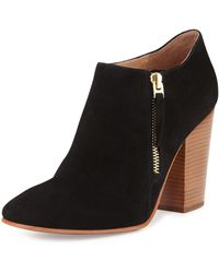 Vc Signature Palika Suede Ankle Boot - Lyst