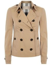 Burberry Brit Dukesby Trench Jacket - Lyst