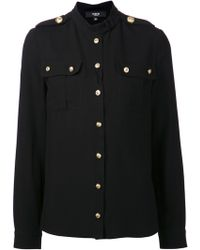 Versus  Military Shirt - Lyst