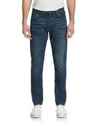 Dolce & Gabbana Straight-Leg Cotton Jeans - Lyst