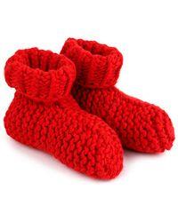 Wool And The Gang Big Foot Socks - Lyst