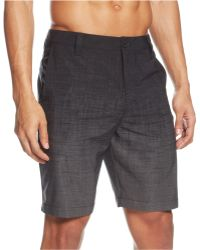 Kenneth Cole Reaction Street Crossover Shorts black - Lyst