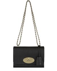 Mulberry Small Lily Glossy Goat Bag - Lyst