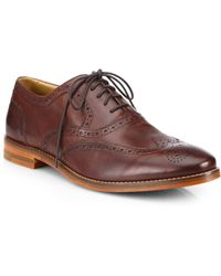Cole Haan Cambridge Leather Wingtip Oxfords - Lyst