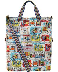 Cath Kidston - Multicoloured Stop Thief Foldover Tote Bag - Lyst