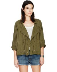 Current/Elliott The Conductor Jacket green - Lyst
