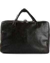 Golden Goose Deluxe Brand Woven Handles Holdall Bag - Lyst