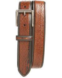 Bill Lavin | Eel Leather Belt | Lyst