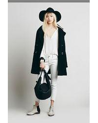 Free People Saba Leather Bag - Lyst