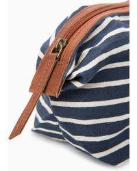 Violeta by Mango - Small Linen Cosmetic Bag - Lyst