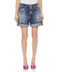 DSquared² Kawaii Shorts - Blue - Lyst